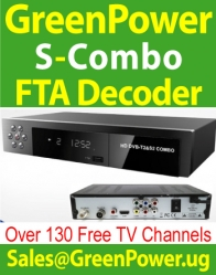 130 Free Channels TV Decoders