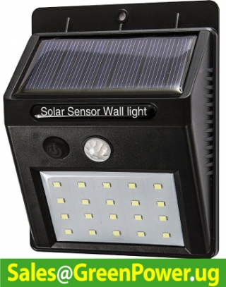 Solar Security Light (Zero Umeme Bills)