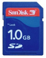 1GB SD Card (For Camera)